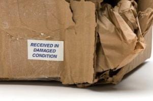 Crumpled box